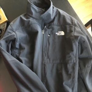 Other - Black The north face waterproof jacket GENTLY WORN